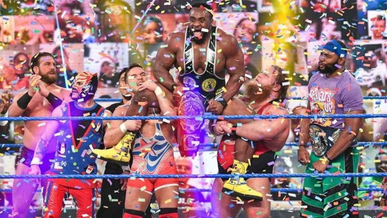 Big E Wins Intercontinental Title at Christmas Edition on SmackDown