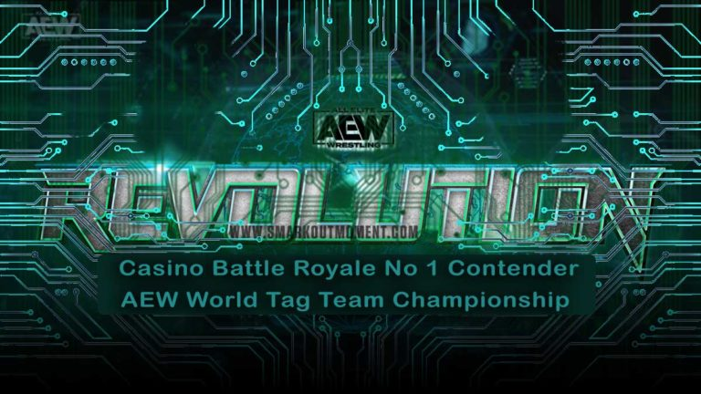 Rules announced for Casino Tag Team Battle Royale at Revolution