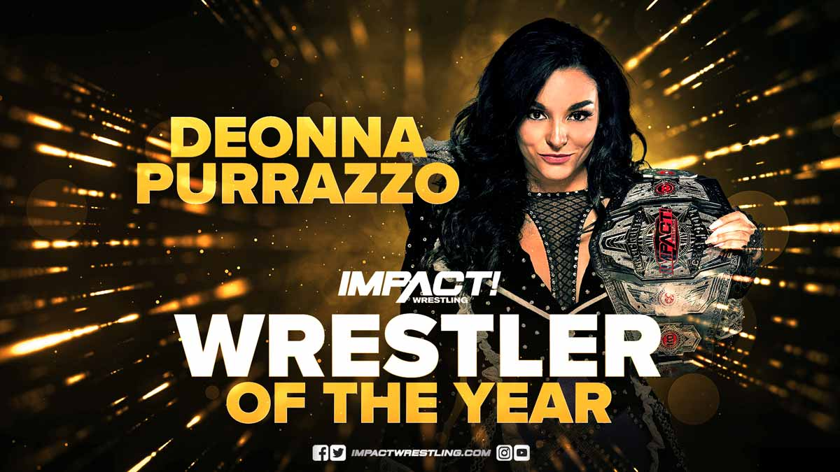 Deonna Purrazo Impact Wrestler of the Year 2020