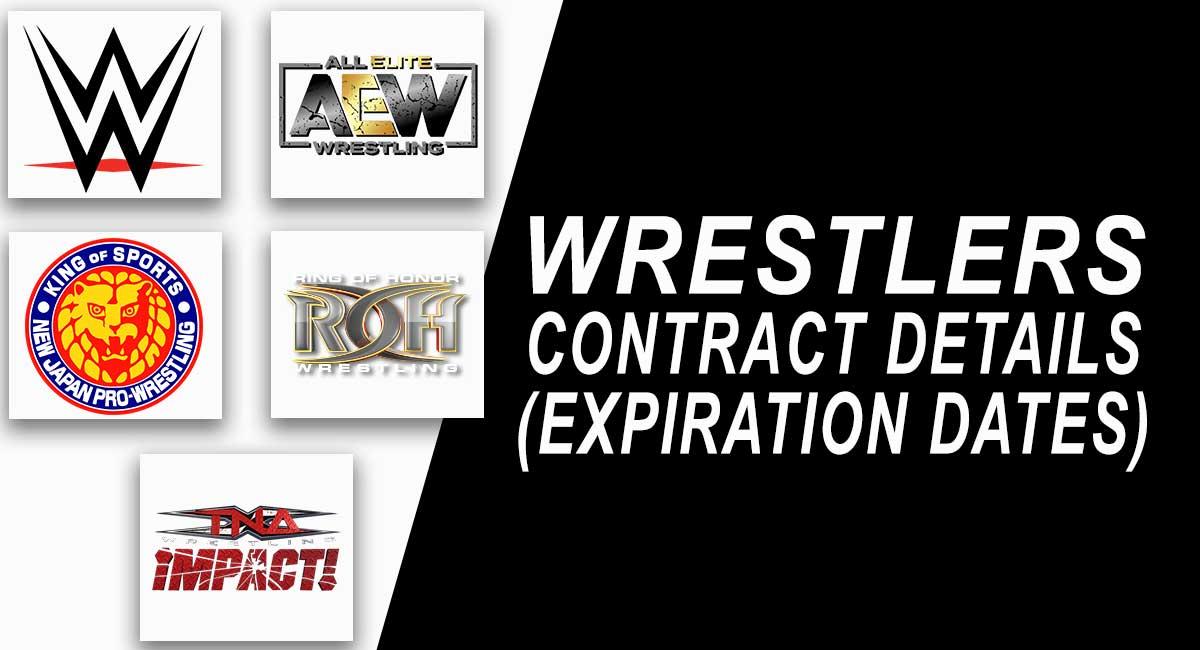 WWE WRESTLER CONTRACT DETAILS