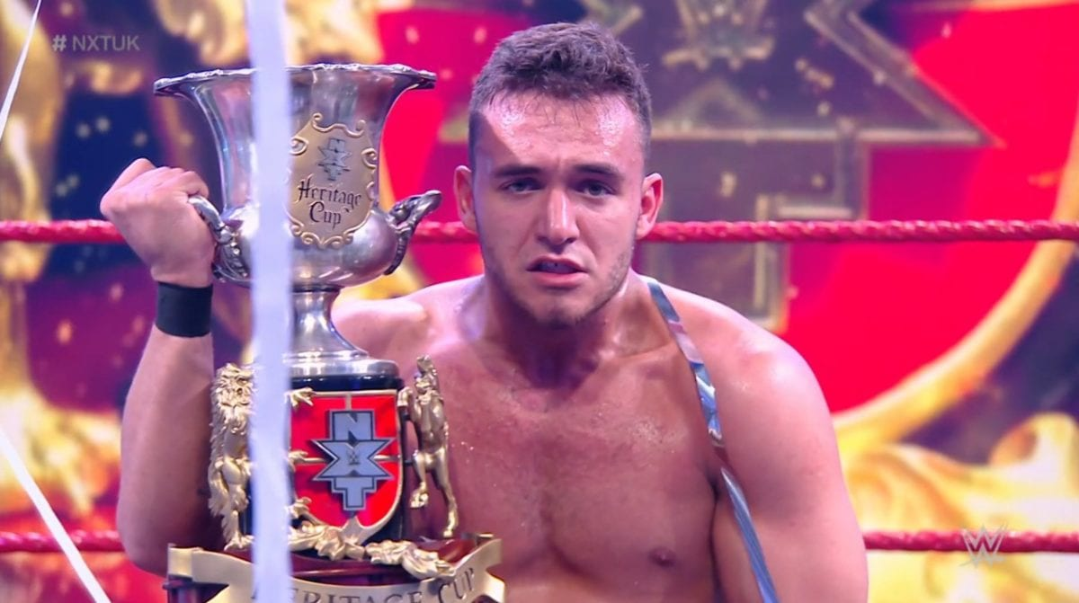 A-Kid wins NXT UK Heritage Cup tournament