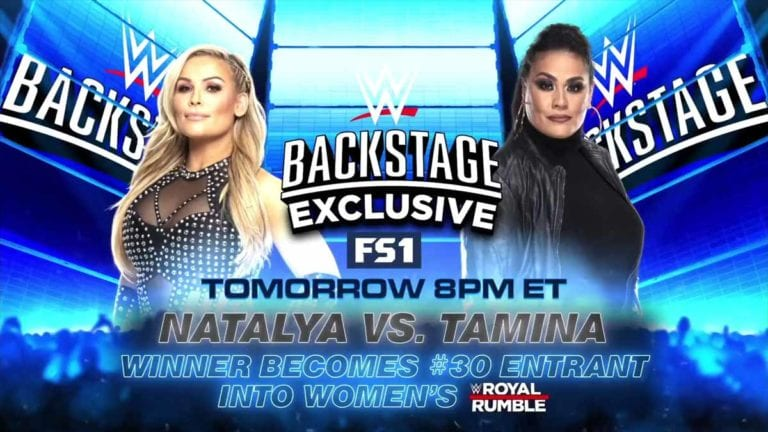 Special Match Announced For WWE Backstage! Royal Rumble Plan Changed?