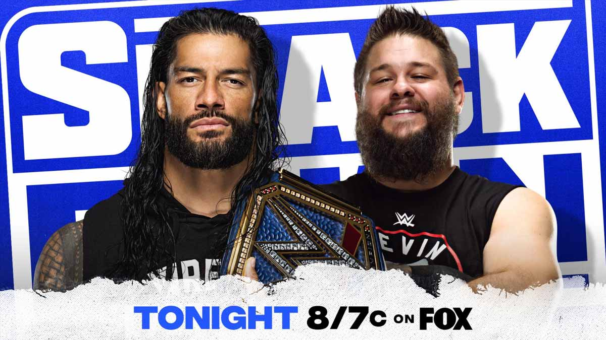 Roman Reigns & Kevin Owens WWE SmackDown