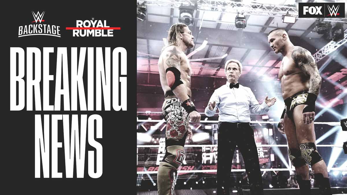 Royal Rumble 2021 Edge & Orton