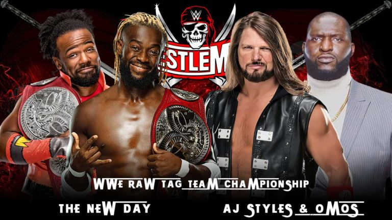 AJ Styles & Omus To Challenge For RAW Tag Titles at WrestleMania 37
