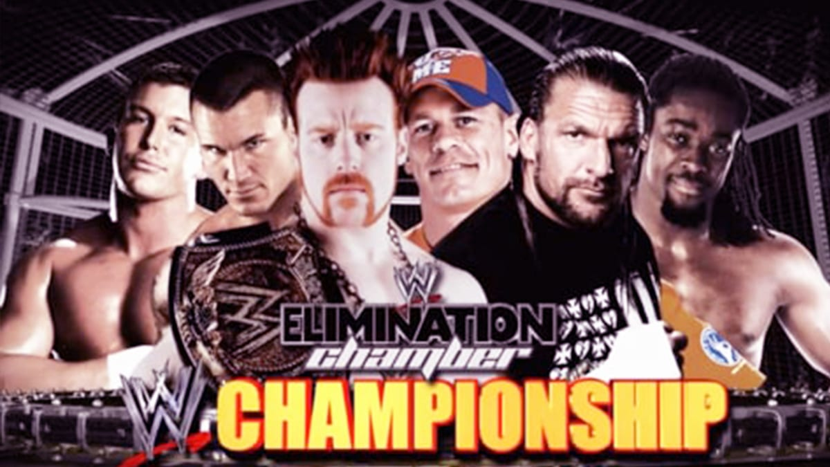 Elimination Chamber 2010 Elimination Chamber Match For WWE Championship