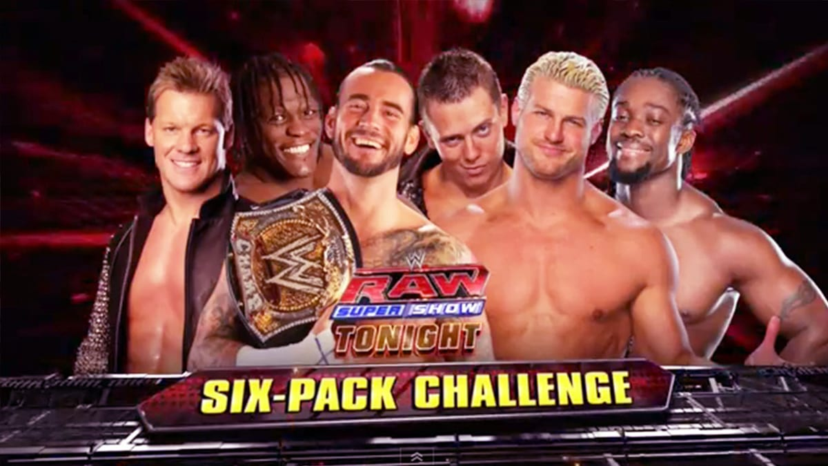 Elimination Chamber 2012 Elimination Chamber Match For WWE Championship