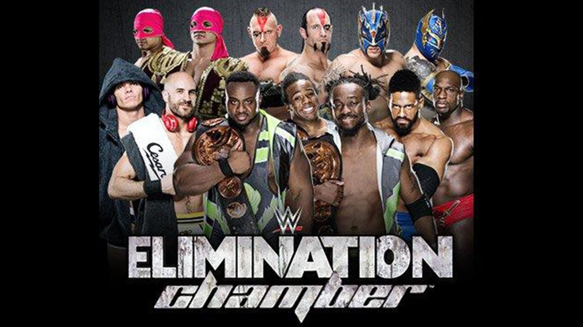 Elimination Chamber 2015 Elimination Chamber Match For WWE Tag Team Championship