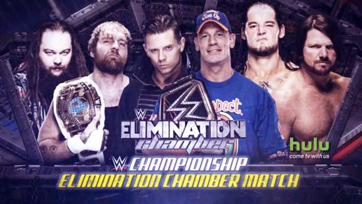 Elimination Chamber 2017 Elimination Chamber Match For WWE Championship