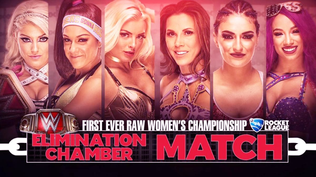 Elimination Chamber 2018 Elimination Chamber Match For WWE Raw Women's Championship
