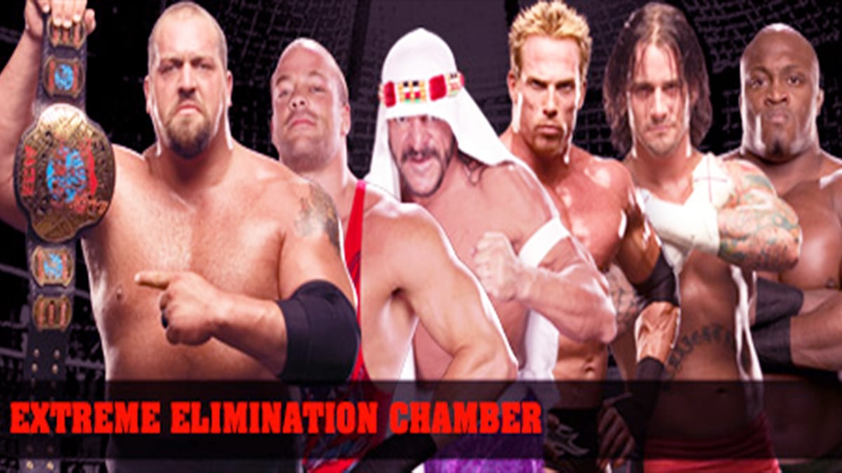 December to Dismember 2006 Elimination Chamber Match For ECW World Championship