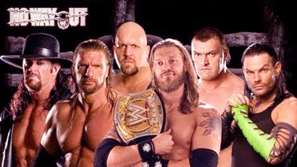 No Way Out 2009 Elimination Chamber Match For WWE Championship