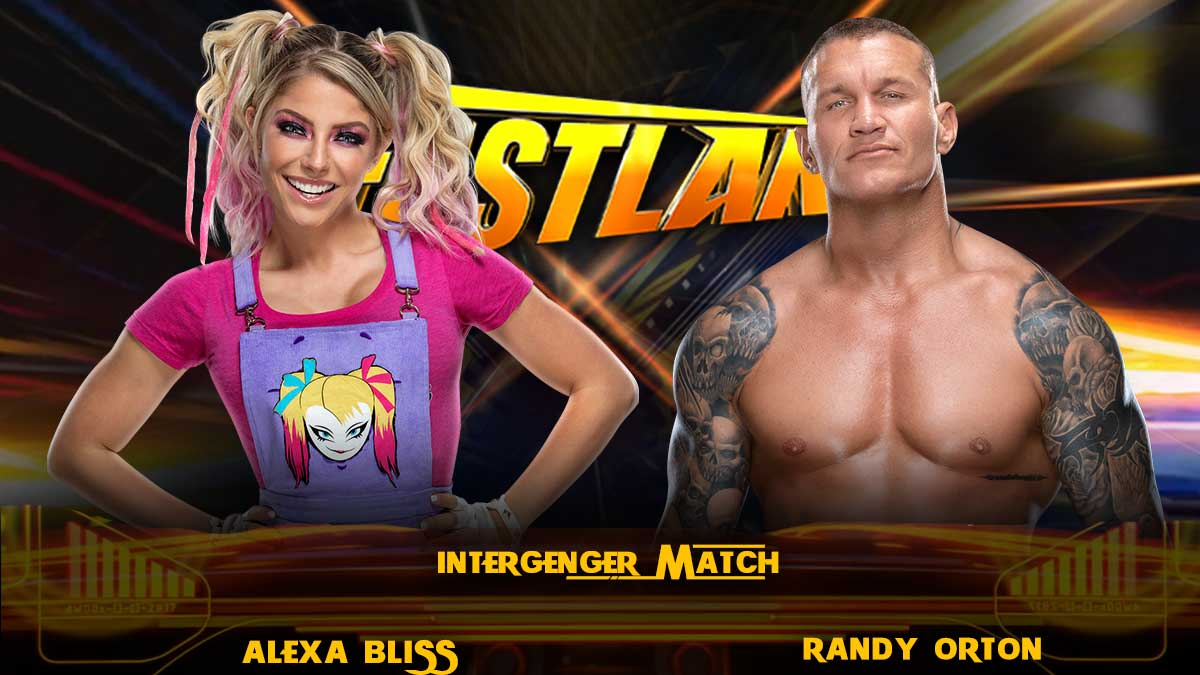 Randy Orton vs Alexa Bliss Fastlane 2021