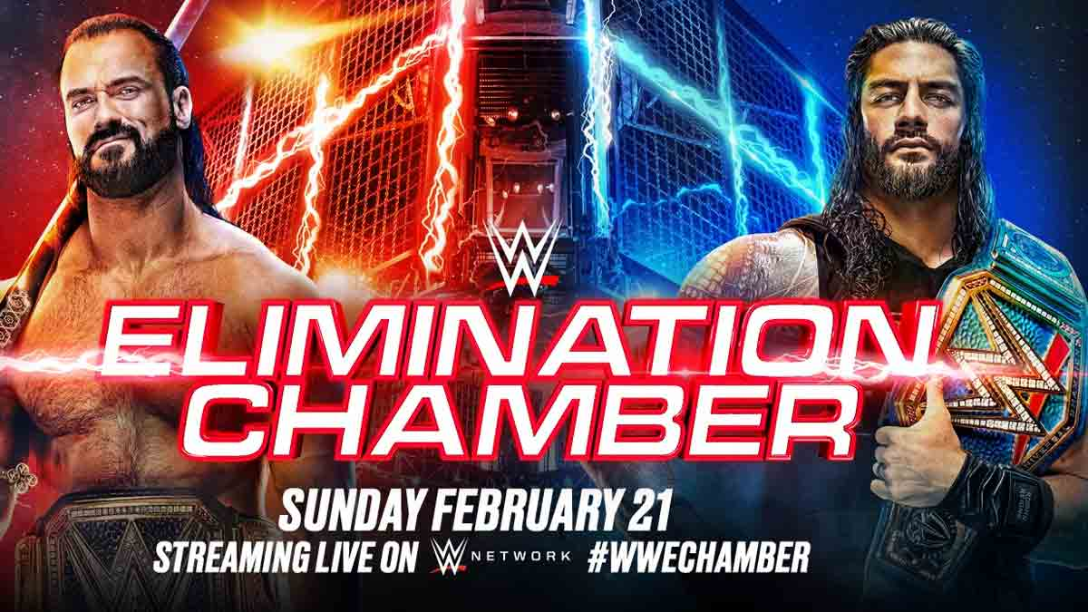 WWE Elimination Chamber 2021 New Poster