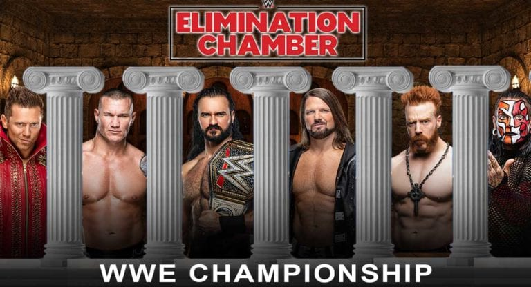 WWE Championship Match Announced for Elimination Chamber 2021