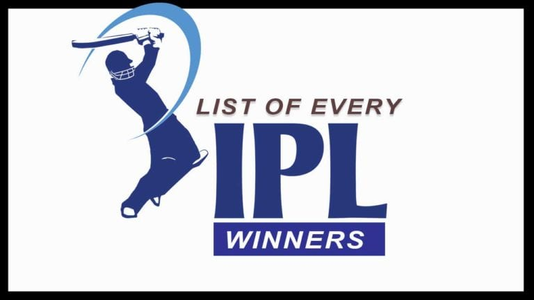 List Of Every IPL Winners & Runners Up from 2008 to 2020