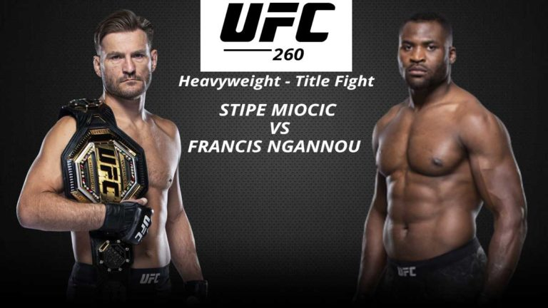 UFC 260: Fight Card, Date, Time, Location