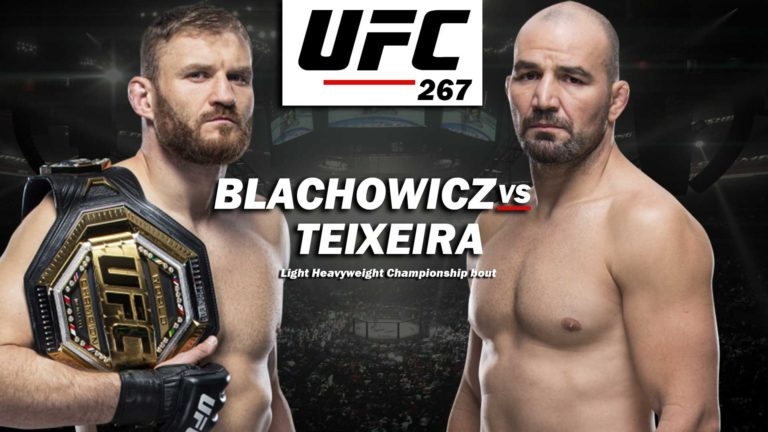 UFC 267 Main Event & Co-Main Event Confirmed, Will Likely Be Non-PPV