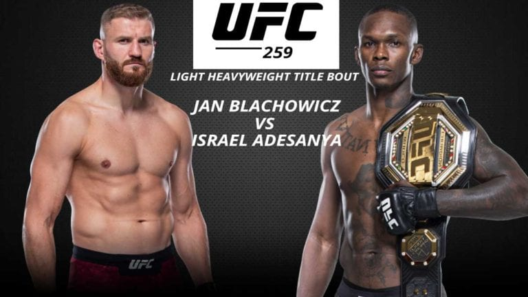 UFC 259 Fight Card: Date, Time, Location