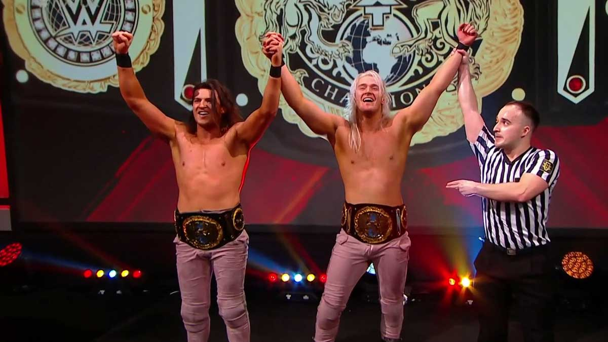 Pretty Deadly NXT UK Tag Team Champions