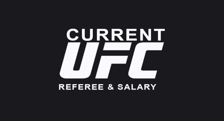 List of Current UFC Referee in 2021 & salaries