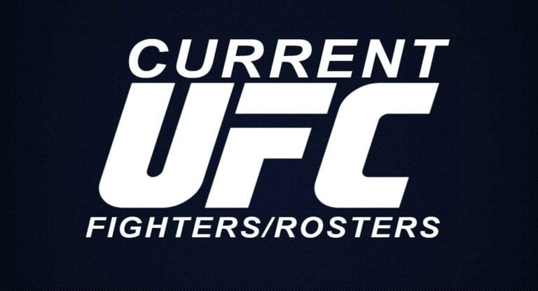 Current UFC fighters/Roster: List of Male & Female Fighters