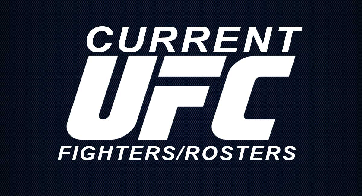 UFC Roster Fighters