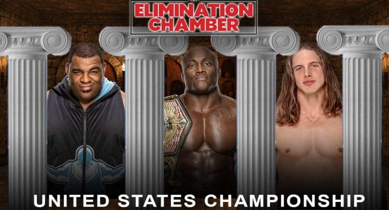 United States Title Match Fixed at Elimination Chamber 2021