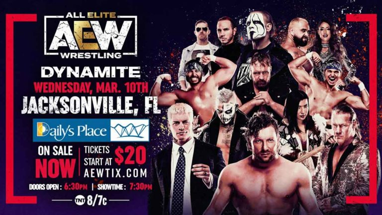 Matches & Segments Revealed for This Week's AEW Dynamite