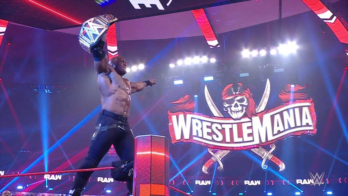Lashley wins WWE championship