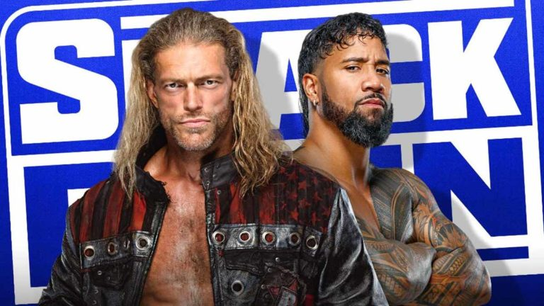 Edge vs Jey Uso Announced for SmackDown With Fastlane Implications