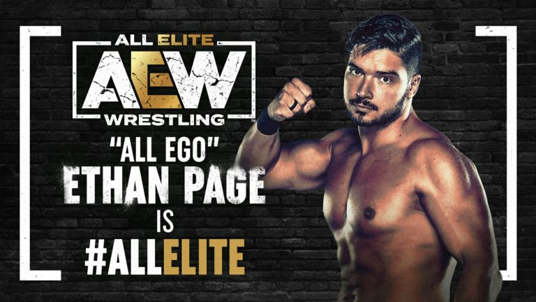 Ethan Page is Surprise Entrant in AEW Face of Revolution Match