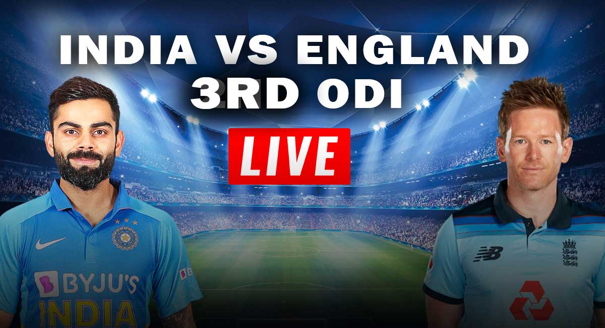 India vs England 3rd ODI live