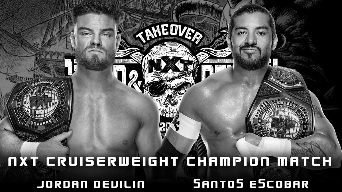 Jordan Devlin(c) vs Santos Escobar(c) - Title Unification Match for NXT Cruiserweight Championship - NXT TakeOver Stand & Deliver 2021