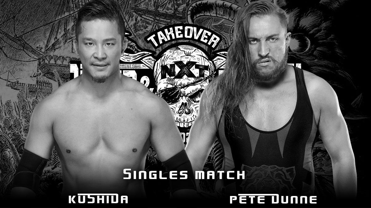 Pete Dunne vs Kushida NXT TakeOver Stand & Deliver 2021