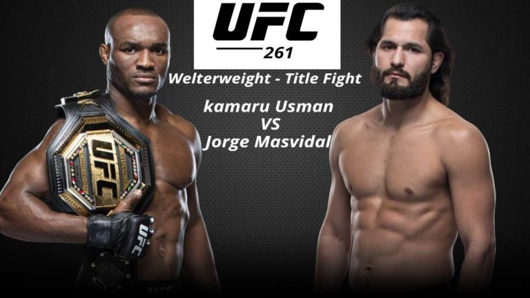 UFC 261: Fight Card, Date, Time, Location