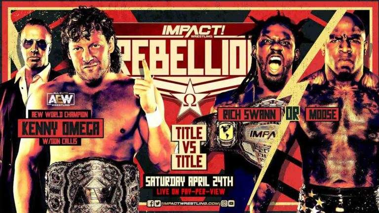 Kenny Omega All Set For Title Vs Title Match at Impact Rebellion