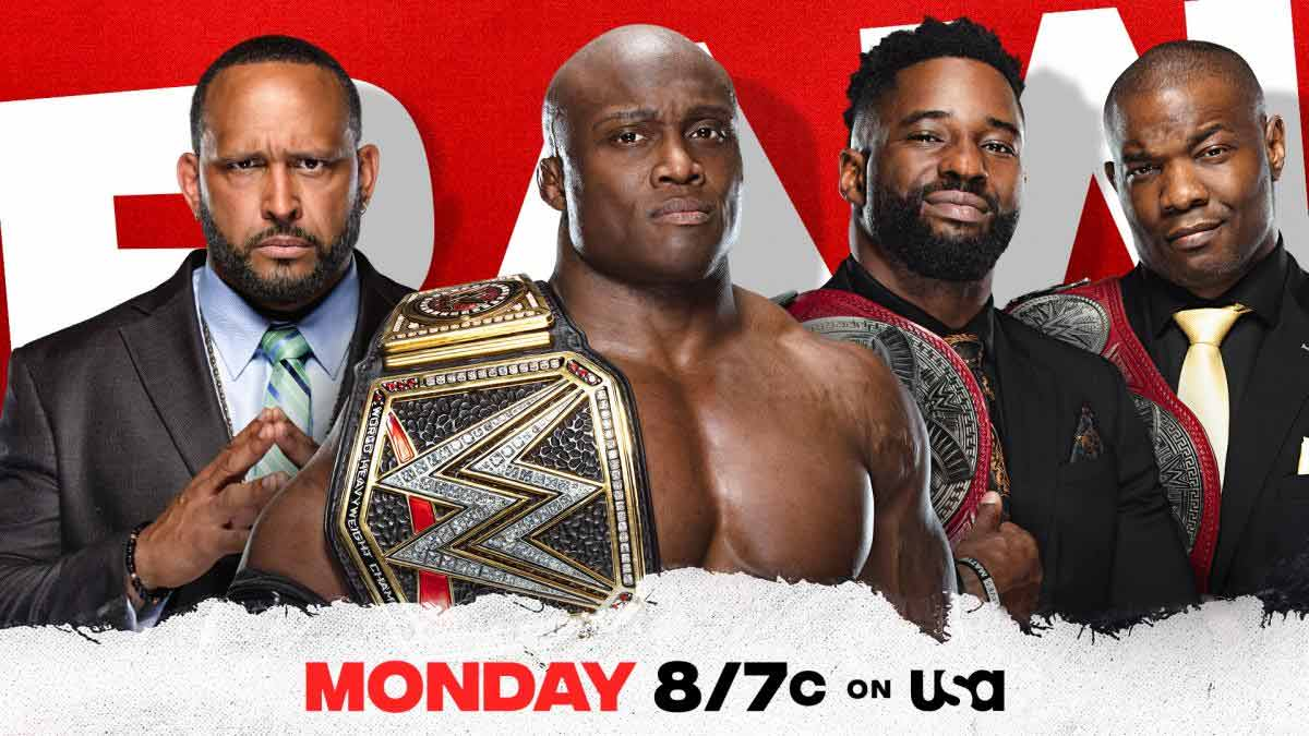 Bobby Lashley WWE RAW 8 March 2021