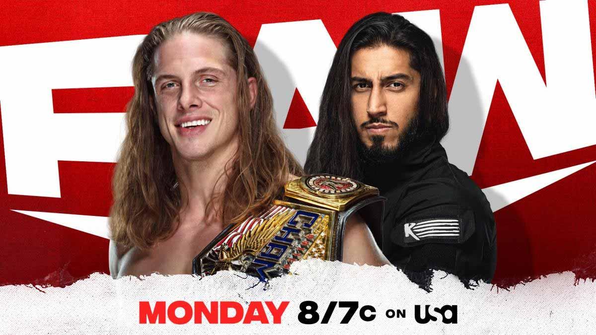 Matt Riddle vs Mustafa Ali WWE RAW 15 March 2021