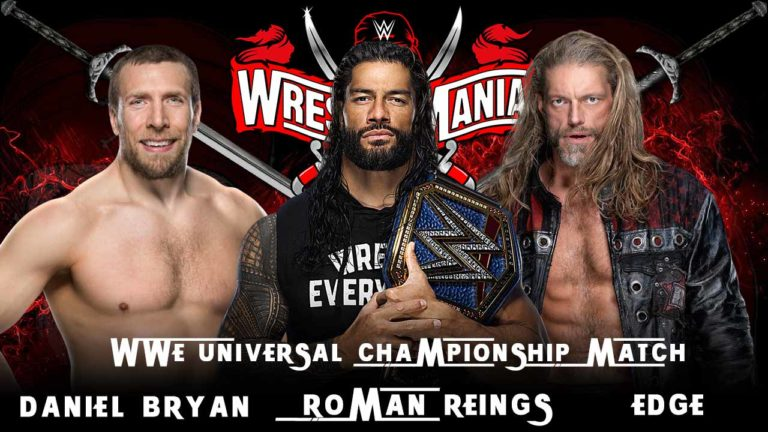 Edge Fires Warning Ahead of WrestleMania 37 Main Event