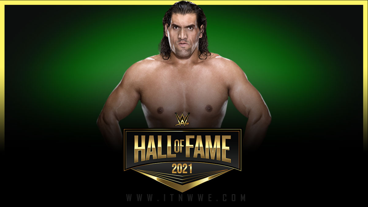 The Great Khali WWE Hall of Fame 2021