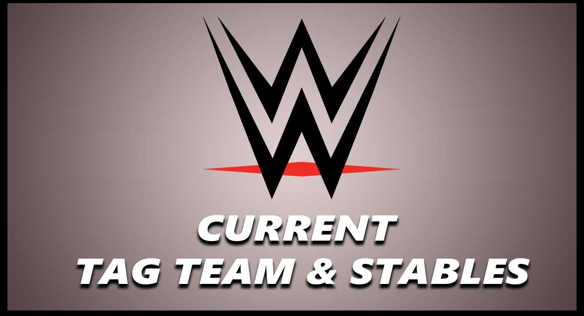 WWE CURRENT TAG TEAM Stable