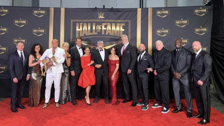 WWE Hall of Fame 2020 Induction Ceremony Taping Updates