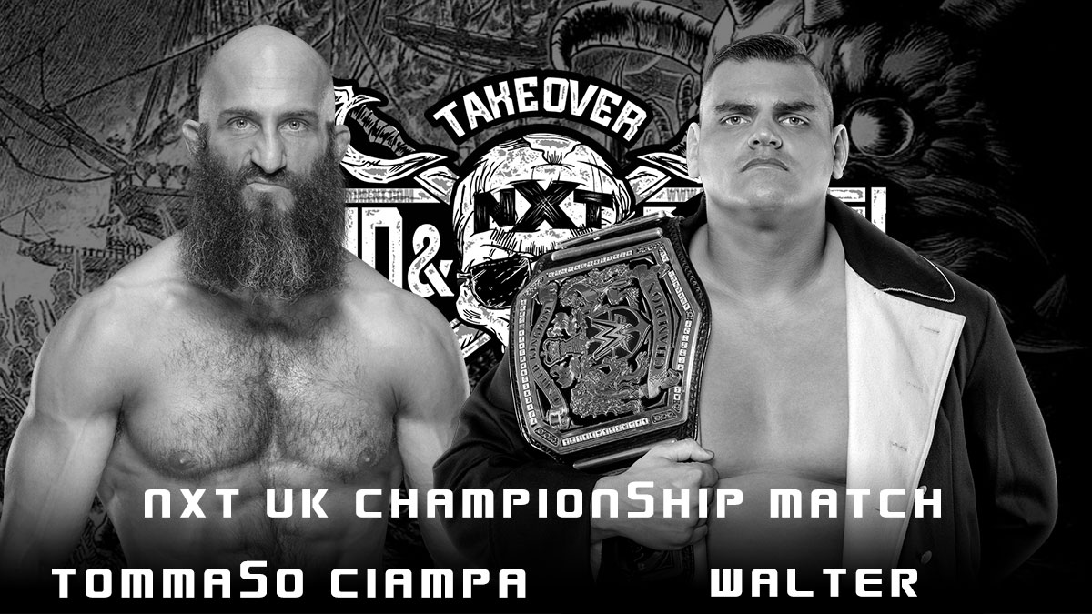 WALTER(c) vs Tommaso Ciampa - NXT UK Championship - NXT TakeOver Stand & Deliver 2021