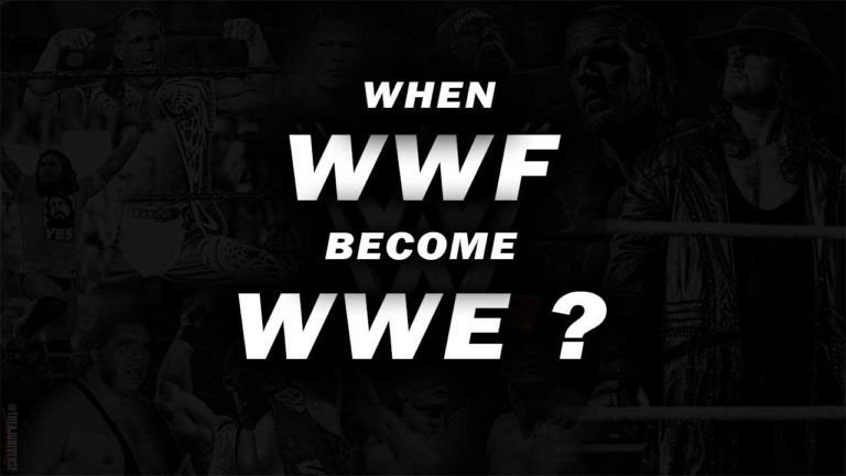 When Did WWF Changed Name to WWE?