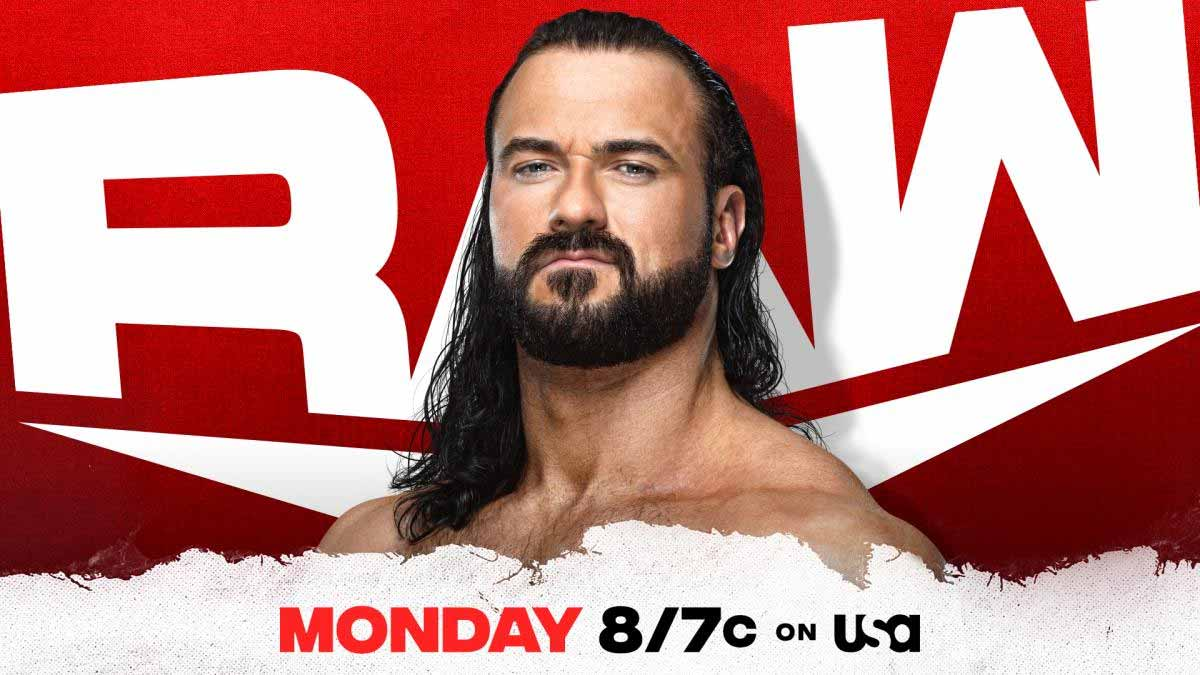 Drew McIntyre WWE RAW 19 April 2021