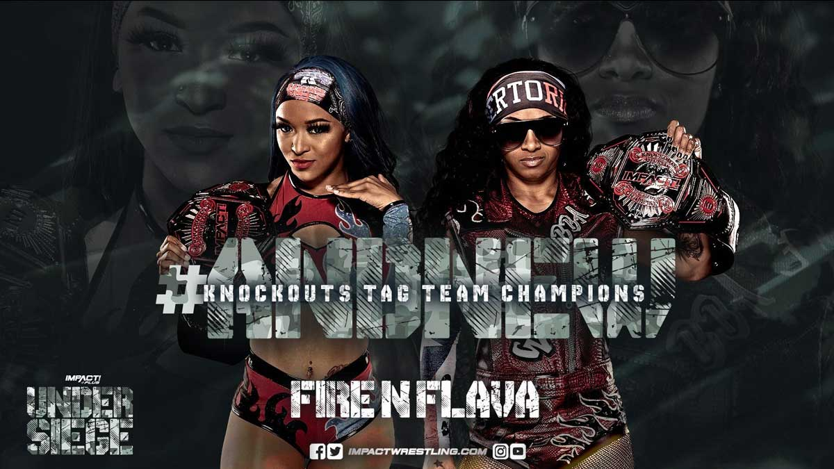 Fire N' Flava Impact Knockouts Tag Team Champions