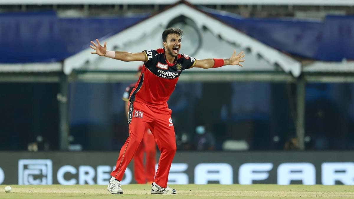 Harshal Patel takes 5 wickets against MI