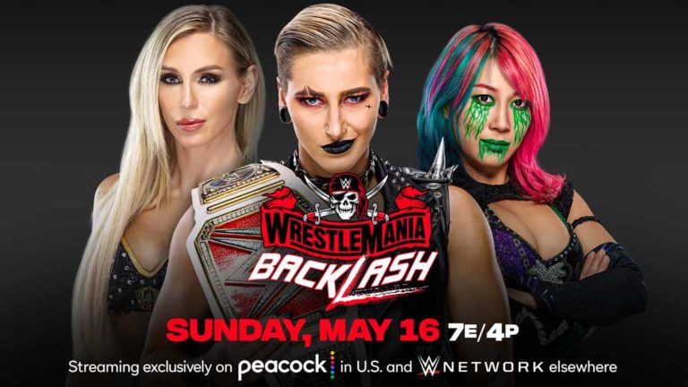 Rhea Ripley vs Asuka vs Flair Announced for WWE WrestleMania Backlash