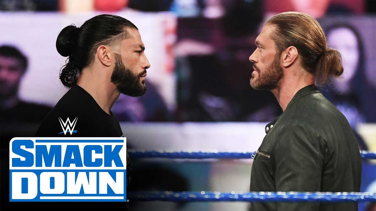 Roman Reigns confronted Edge